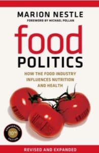 Cover of Food Politics, a book by Marion Nestle